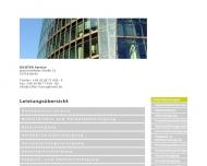 Bild Webseite  Erfurt
