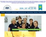 Bild Webseite Zahnarztpraxis Birgit Kleinschmidt Berlin