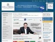 Website ECK & OBERG Gruppe - Hamburg