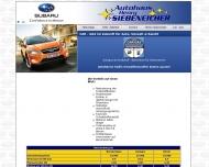 Bild Webseite Siebeneicher Henry Autohaus Dresden