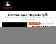 Website Alarmanlagen Magdeburg