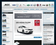 Bild Webseite Autohandel Elbkontor Dresden