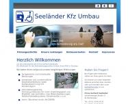 Bild Webseite Seeländer G. Umbau von Pkw f. Versehrte Dresden