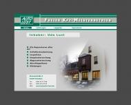 Bild Webseite Lust und KFZ Meister-Betrieb Dresden