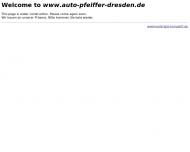 Bild Webseite Auto Jürgen Pfeiffer Dresden