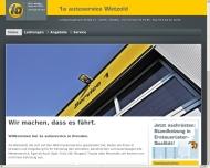 Bild Webseite Autohaus Wetzold Dresden