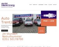 Bild Webseite Trentzsch Günter Kfz-Spezialwerkstatt Dresden
