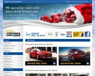 Bild Webseite Autohaus Zobjack Pirna Dresden