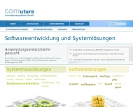 Bild Webseite confuture Innovationssysteme Leipzig