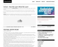 Bild Webseite Klubradio unlimited Berlin
