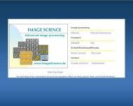 Bild Webseite Image Science Software Berlin