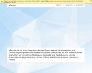 Bild Webseite pReview digital design Berlin