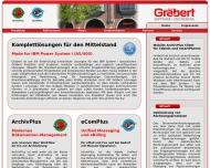Bild Webseite GSE Gräbert Software + Engineering Berlin