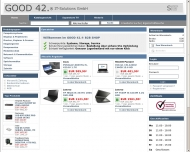 Bild Webseite GOOD 42 IT-Solutions Berlin