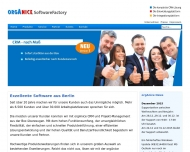 Bild Webseite OrgAnice Software Deutschland Berlin