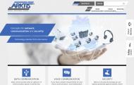 Bild Webseite ARKTIS Gesellschaft für Telekomunikation und Datentechnik Berlin