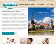 Bild hairfree Institut Ulm