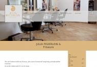 Website Julia Feuerlein & Friseure