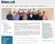 Bild Webseite DIGIHAUS Berlin