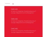 Bild OAS AG - Unternehmensbereich regiodata