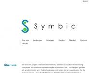 Symbic GmbH Webbasierte Lösungen für herausfordernde eBusiness-Projekte