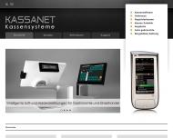 Bild Webseite KassaNet · Kassensysteme und mehr ... München