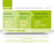 Website Einfach. IT