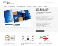 Bild Webseite SYS-Line Support Netphen