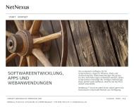 Bild Webseite NetNexus IT Services Blaubach