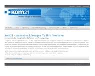 Bild Kom21 - Innovative Lösungen für Ihre Geodaten