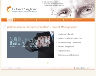 Bild Webseite Business Creation - Project Management ICT Neubeuern