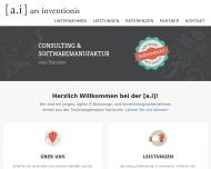 Bild ars inventionis Softwareberatung & -entwicklung UG (haftungsbeschränkt)