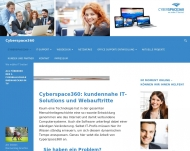 Bild Webseite Cyberspace360 Ober-Olm