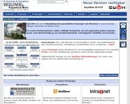 Bild Webseite Ing.-Büro WIUME Reutlingen