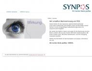 Website Synpos Vertriebsgesellschaft