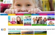 Bild Webseite Hallo AuPair UG Nürnberg