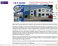 Website IWS-Industrie-Wäschereianlagen-Service