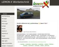 Bild LEMON-X Werbetechnik