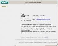Bild Vogt Mechatronic GmbH