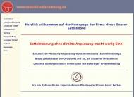 Bild Reitsport Brück, dynamische Satteldruckmessung