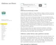 Bild Webseite Oldtimer am Rhein Köln