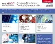 Bild medDOC Medical Translations and Documentation
