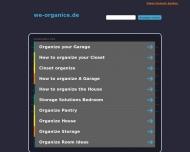 Bild Webseite ORGANICE - Erfolg durch Organisation Konstanz