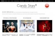 Website Candy Stars Model- und Eventagentur