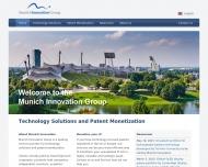 Bild Webseite Munich Innovation Group München
