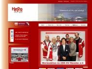 Bild Webseite HeRo Service-Agentur Köln
