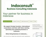 Bild Webseite Indoconsult - Indonesien Beratung München