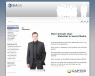 Bild Webseite BASE Bartels System Entwicklung Troisdorf