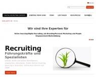 Bild Webseite PERIM Personalberatung im Mittelstand Nürnberg