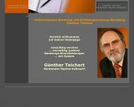 Bild consulting services Günther Teichert Beratender Diplom-Volkswirt